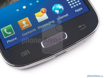 The control keys on the front - Samsung Galaxy S4 mini Review