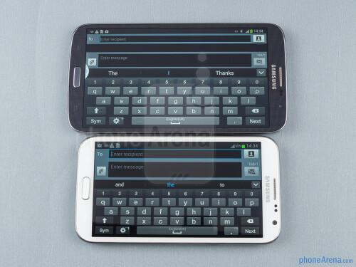 Samsung Galaxy Mega 6.3 vs Galaxy Note II