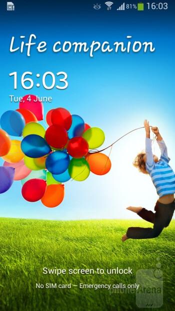 Samsung Galaxy S4 mini runs the TouchWiz UI on top of Android 4.2.2 OS - Samsung Galaxy S4 mini vs HTC One mini