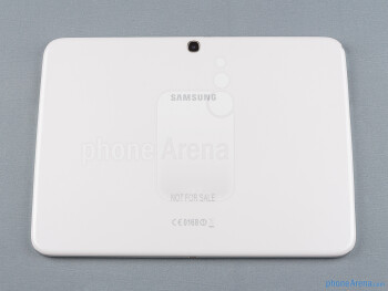 Back - The sides of the Samsung Galaxy Tab 3 10.1 - Samsung Galaxy Tab 3 10.1-inch Preview