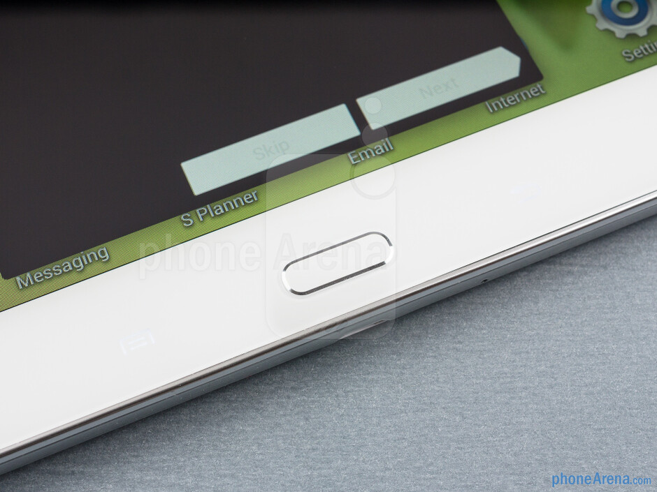 Android keys - Samsung Galaxy Tab 3 10.1-inch Preview