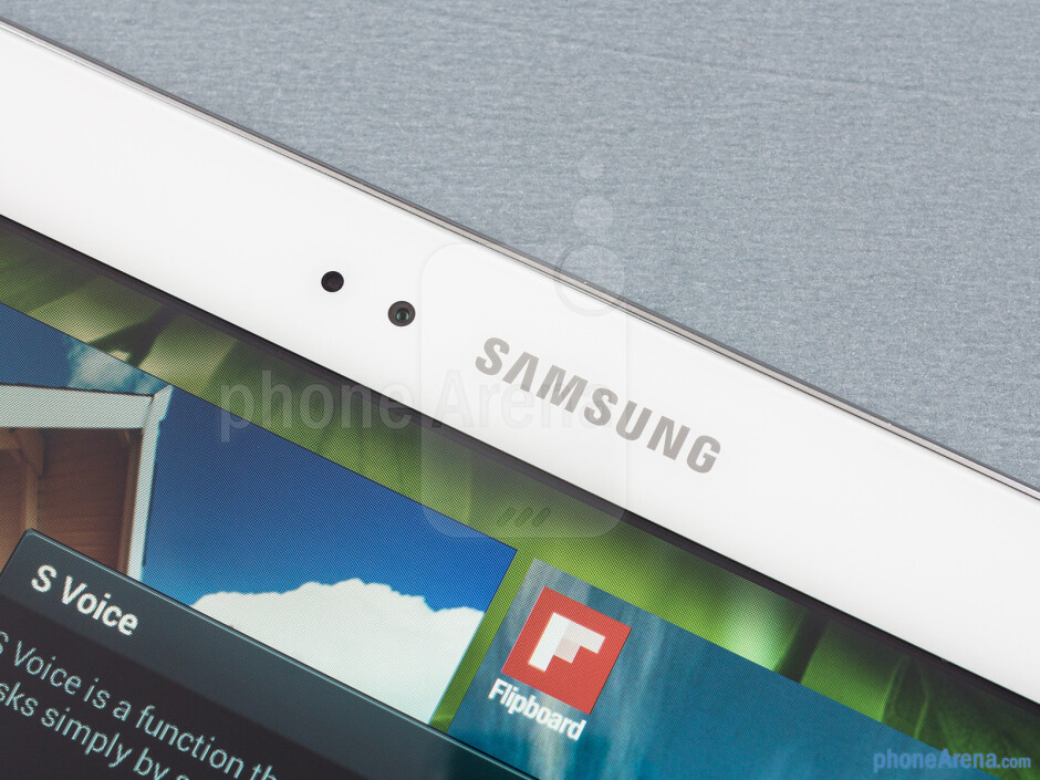 Front camera - Samsung Galaxy Tab 3 10.1-inch Preview