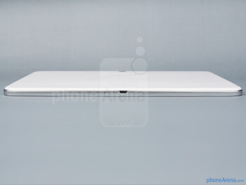 Bottom edge - The sides of the Samsung Galaxy Tab 3 10.1 - Samsung Galaxy Tab 3 10.1-inch Preview