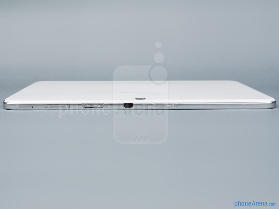 Top - The sides of the Samsung Galaxy Tab 3 10.1 - Samsung Galaxy Tab 3 10.1-inch Preview