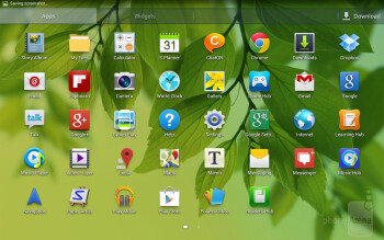 Interface of the Samsung Galaxy Tab 3 10.1 - Samsung Galaxy Tab 3 10.1-inch Preview