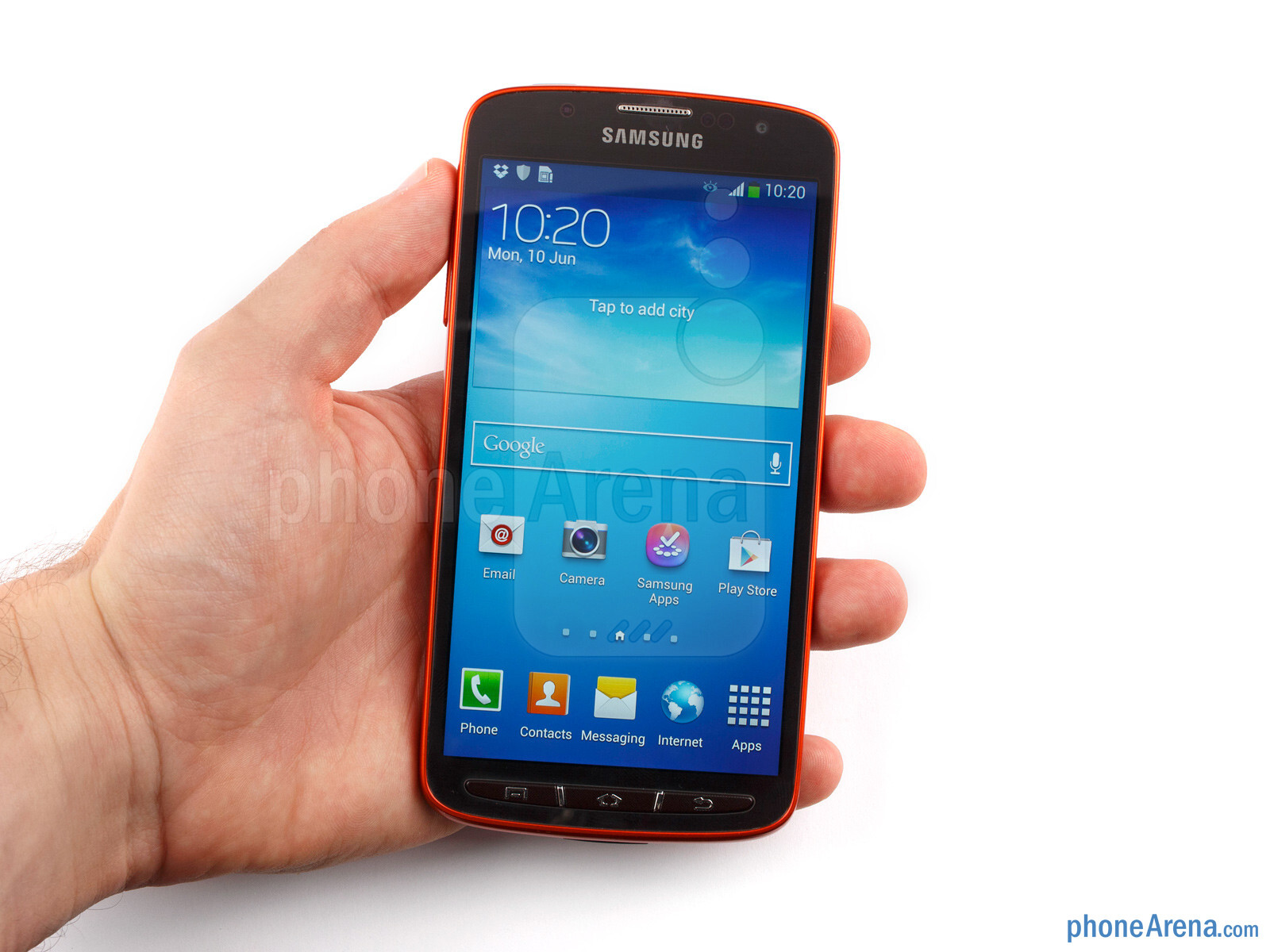 Single Handed Use Of The Samsung Galaxy S4 Active May Be A Challenge