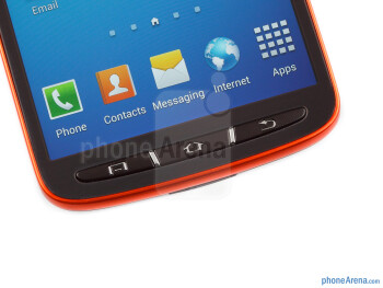 Physical buttons - Samsung Galaxy S4 Active Preview