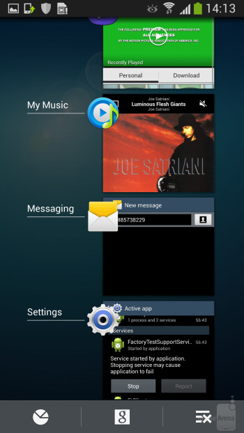 Galaxy S4 Active runs the TouchWiz Nature UX interface on top of Android 4.2.2 Jelly Bean - Samsung Galaxy S4 Active Preview