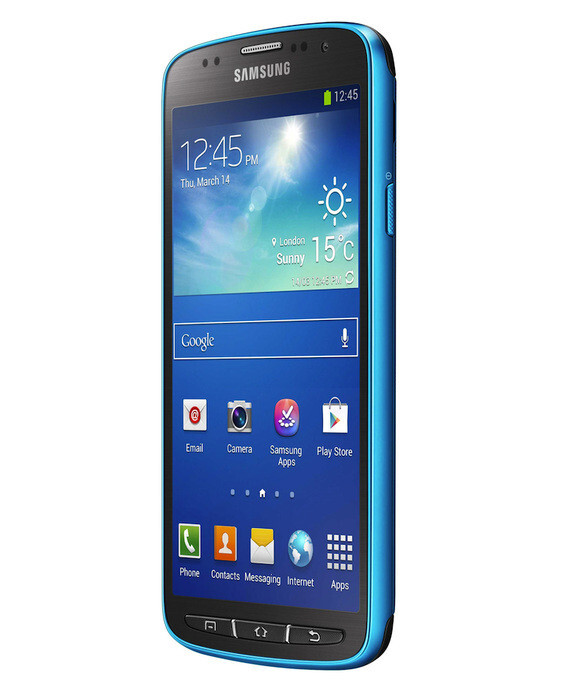 Those who prefer more conservative colors will have grey and blue as options to pick from - Samsung Galaxy S4 Active Preview