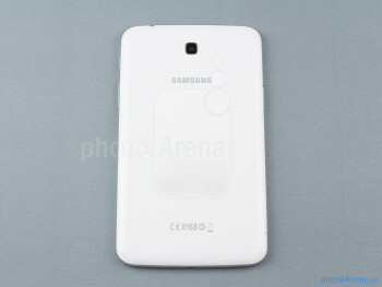 Back - The sides of the Samsung Galaxy Tab 3 7-inch - Samsung Galaxy Tab 3 7-inch Preview