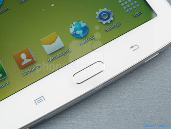 Android buttons - Samsung Galaxy Tab 3 7-inch Preview