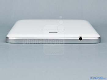 Top - The sides of the Samsung Galaxy Tab 3 7-inch - Samsung Galaxy Tab 3 7-inch Preview