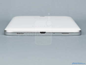 Bottom - The sides of the Samsung Galaxy Tab 3 7-inch - Samsung Galaxy Tab 3 7-inch Preview