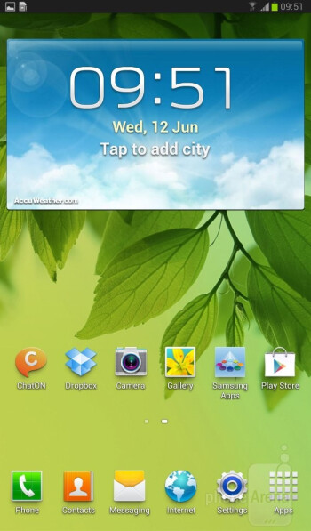 The Galaxy Tab 3 7.0 runs Android 4.1.2 with the TouchWiz interface - Samsung Galaxy Tab 3 7-inch Preview