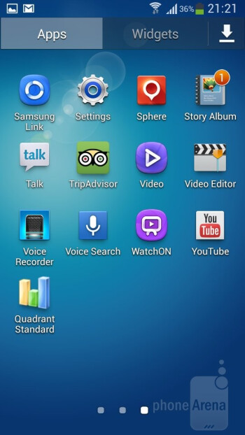 The TouchWiz Nature UX 2.0 is what's painted over Android 4.2.2 on the Samsung Galaxy S4 Zoom - Samsung Galaxy S4 Zoom Preview