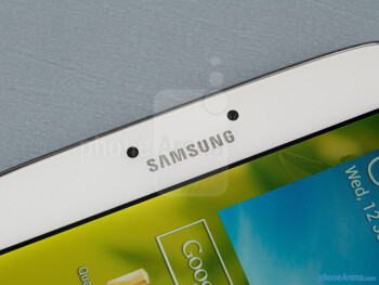 Front camera - Samsung Galaxy Tab 3 8-inch Review