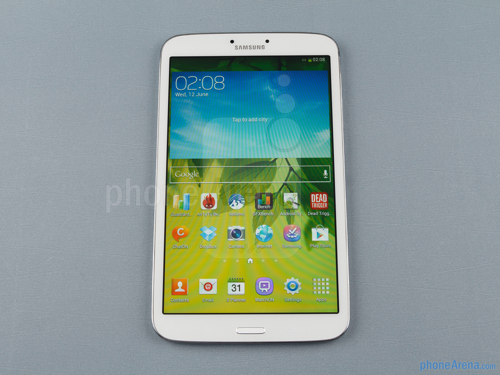 samsung galaxy tab 3 8 inch review phonearena. Black Bedroom Furniture Sets. Home Design Ideas