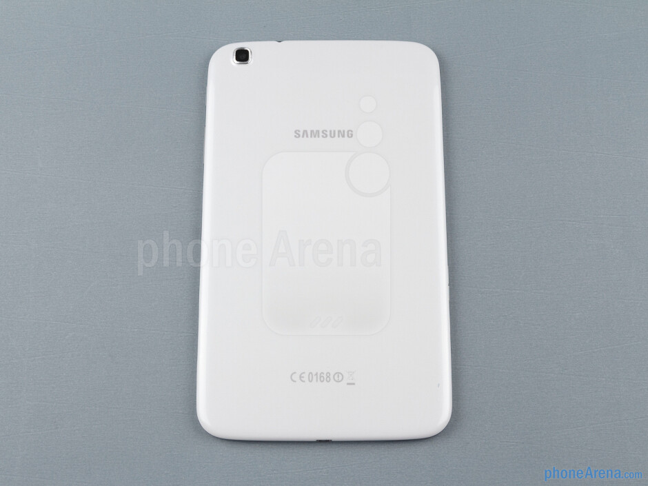 Back - The sides of the Samsung Galaxy Tab 3 8-inch - Samsung Galaxy Tab 3 8-inch Review