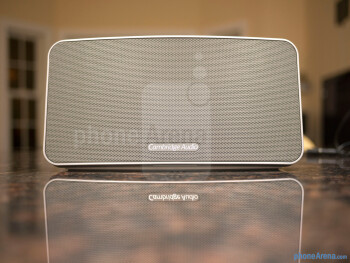 The mesh grill takes up the entire area of its façade - Cambridge Audio Minx Go Review