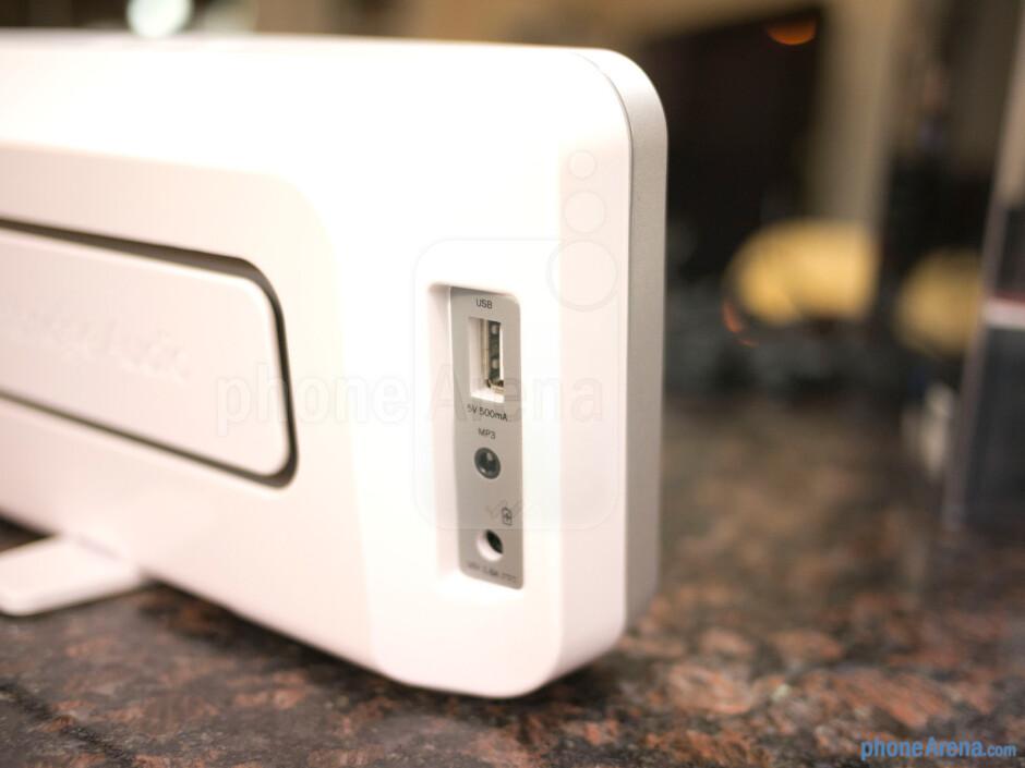 Speaker ports - Cambridge Audio Minx Go Review