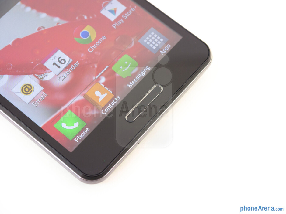 Android keys - LG Optimus F7 Review