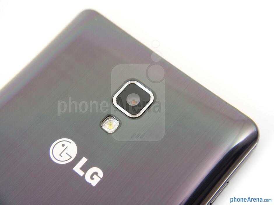 Rear camera - LG Optimus F7 Review