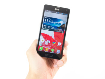 The LG Optimus F7 is sporting a plastic body that feels decent with its construction and build quality - LG Optimus F7 Review