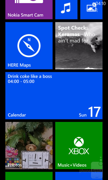 The Windows Phone 8 main menu is still a simple list of all the applications on your phone - Nokia Lumia 925 Review