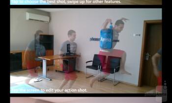 Action shot function - Nokia Lumia 925 Review