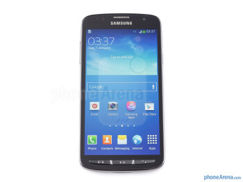 Front - Samsung Galaxy S4 Active Review