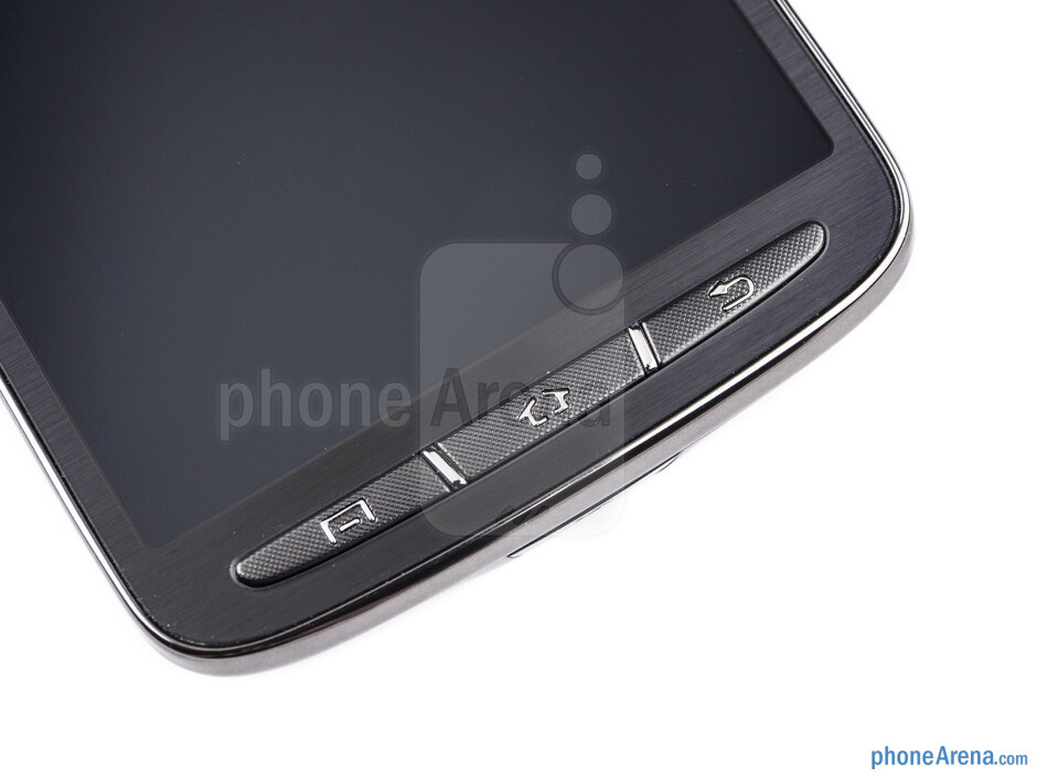 Android buttons - Samsung Galaxy S4 Active Review
