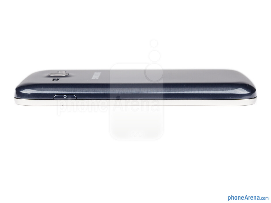 The power/lock key is on the right - Samsung Galaxy Ace 3 Review