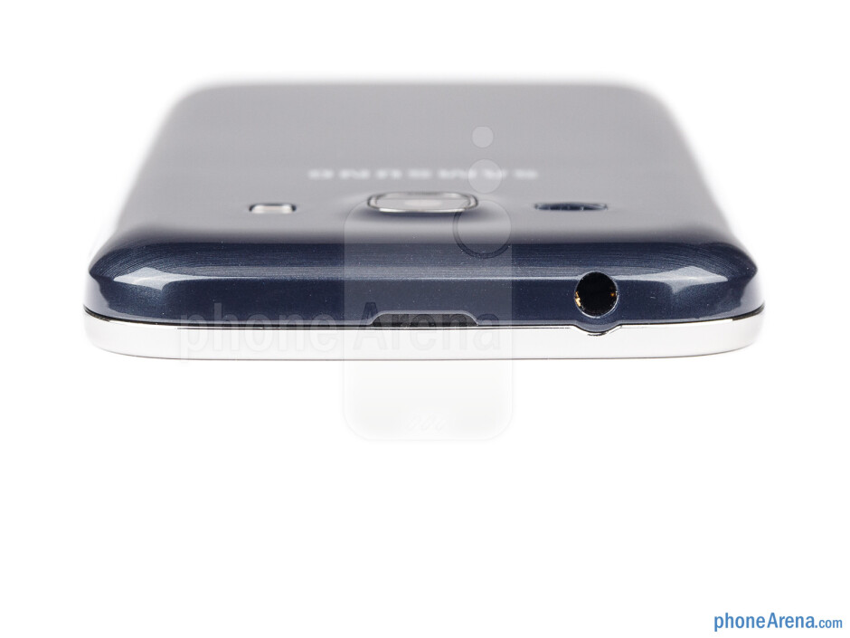 The 3.5mm headset jack is on the top - Samsung Galaxy Ace 3 Review