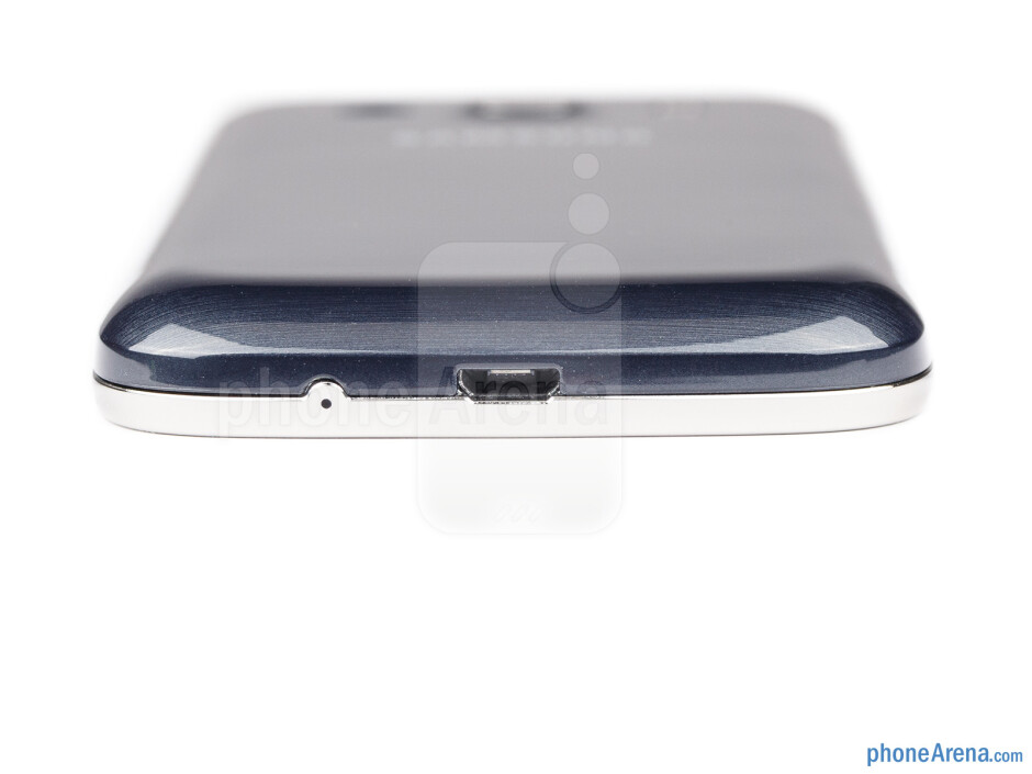 The microUSB port on the bottom - Samsung Galaxy Ace 3 Review