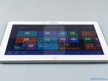 The sides of the Samsung Ativ Tab 3 - Samsung ATIV Tab 3 Preview