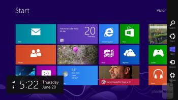 The Samsung Ativ Tab 3 can switch between Windows interface modes - Samsung ATIV Tab 3 Preview