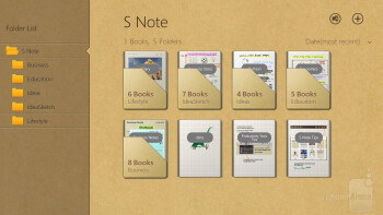 The S Note app - Samsung ATIV Tab 3 Preview