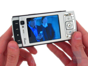 Nokia multimedia slider - Nokia N95 Review