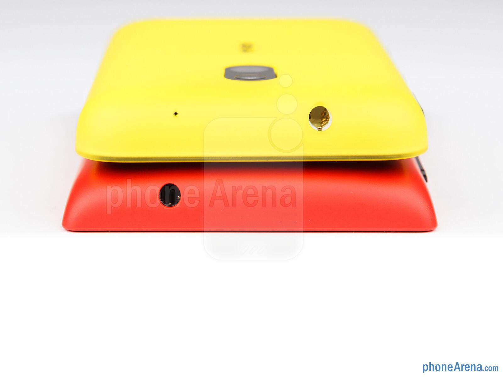Nokia Lumia 520 vs Nokia Lumia 620