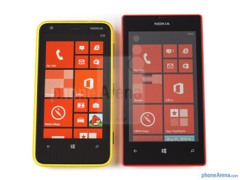 Nokia Lumia 520 vs Nokia Lumia 620