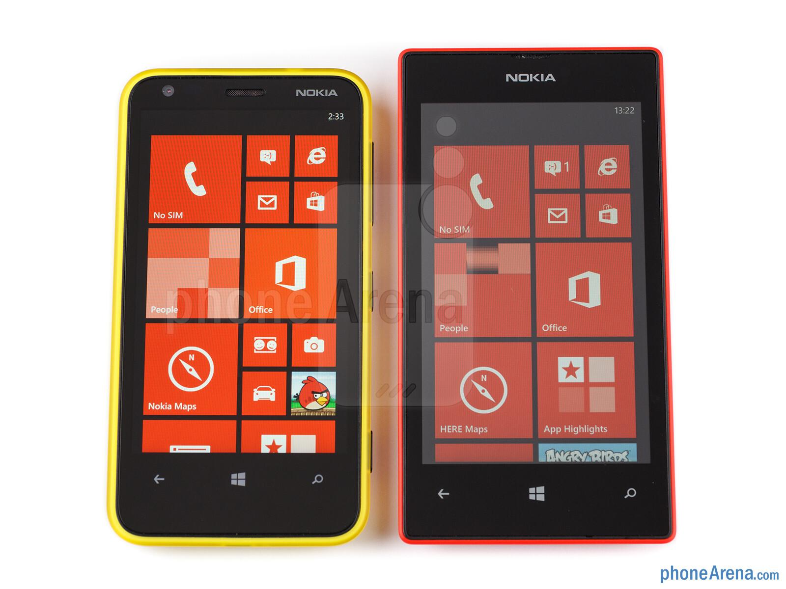 Nokia Lumia 520 vs Nokia Lumia 620Nokia Lumia 620 Vs 520