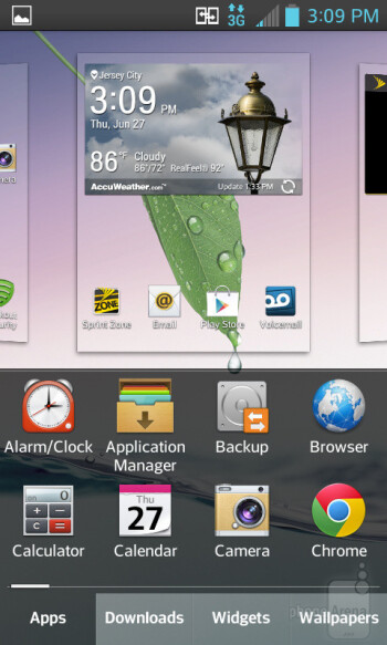 LG Optimus F3 runs Android 4.1.2 Jelly Bean with LG Optimus UI skin on top of it - LG Optimus F3 Review