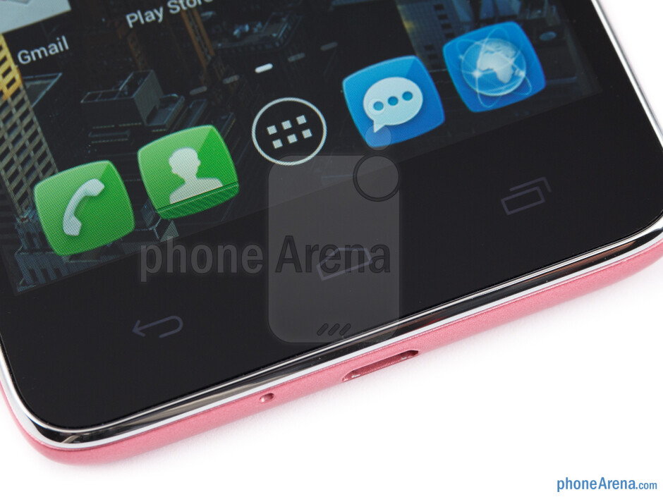 Capacitive Android buttons - Alcatel One Touch Idol Review