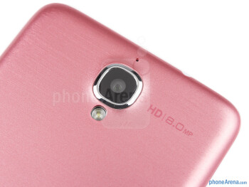 Rear camera - Alcatel One Touch Idol Review
