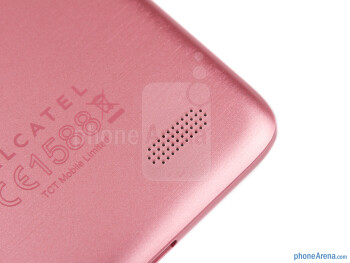 Speaker grill - Alcatel One Touch Idol Review