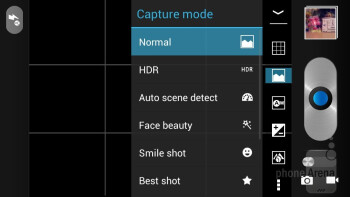 Camera inerface - Alcatel One Touch Idol Review