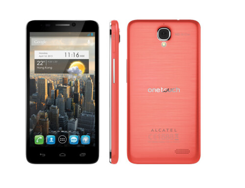 Alcatel One Touch Idol color variations