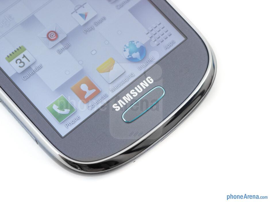 Home key - Samsung Galaxy Exhibit Review
