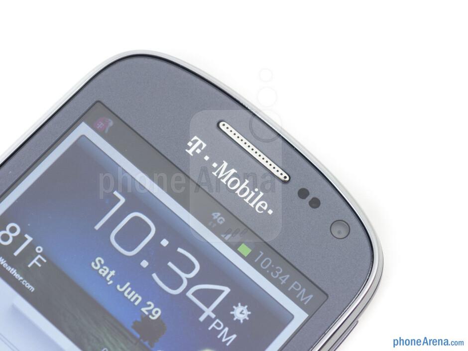 Front camera - Samsung Galaxy Exhibit Review