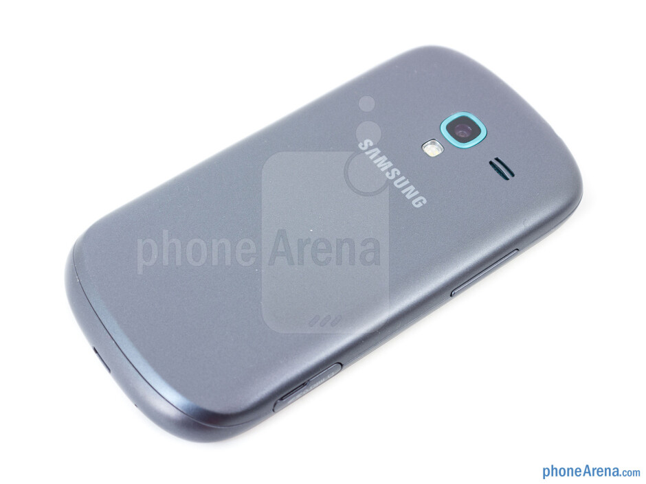 Back - Samsung Galaxy Exhibit Review